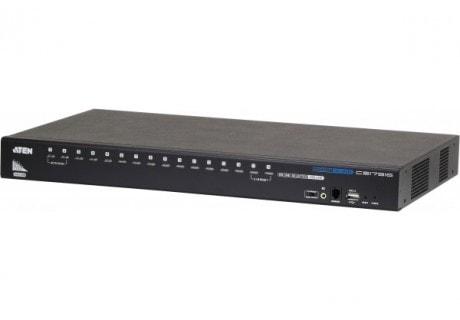 CS17916 KVM Rackable HDMI/USB/Jack - 16 UC - Commutateur Aten - 0