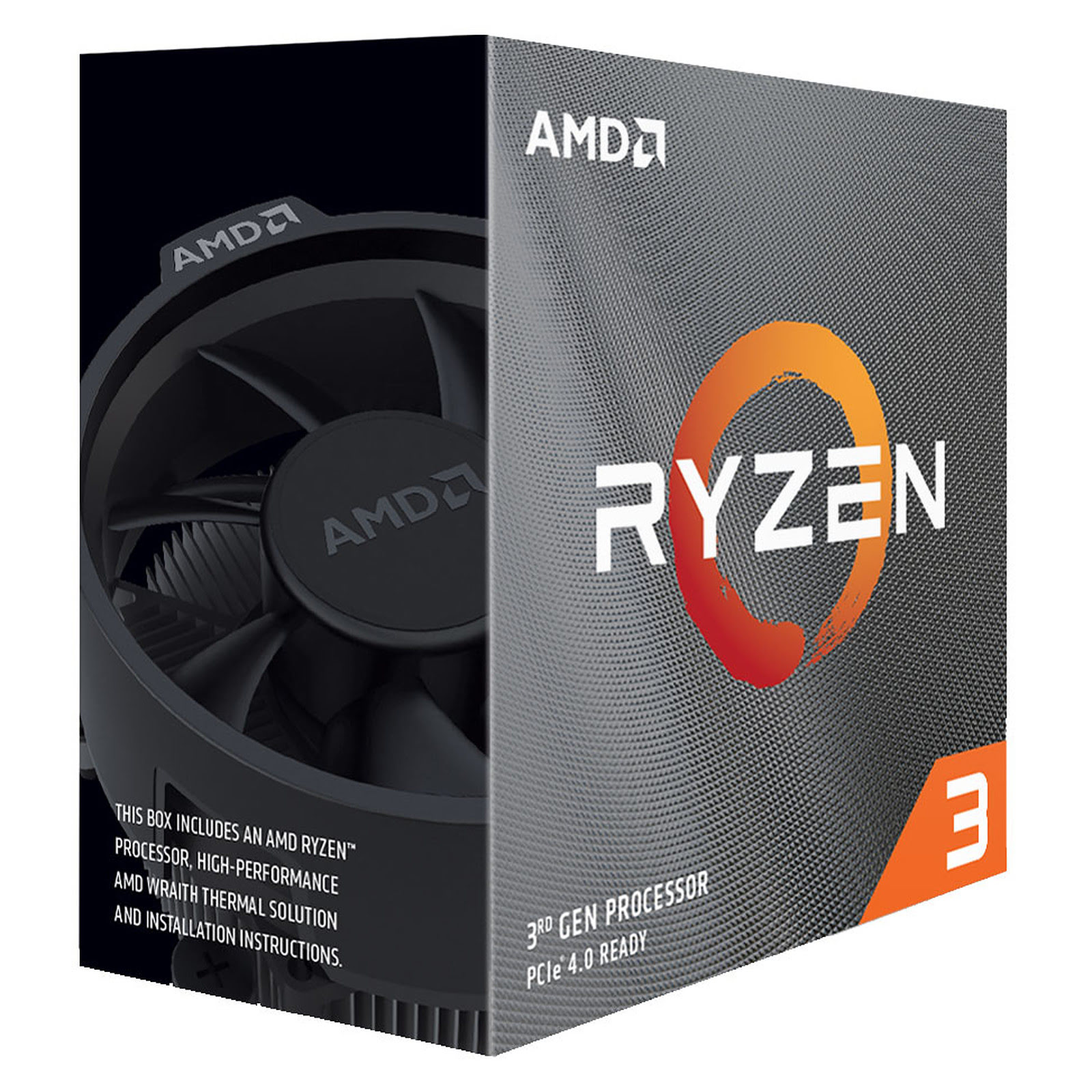 Processeur AMD Ryzen 3 3100 - 3.9GHz/18Mo/AM4/BOX