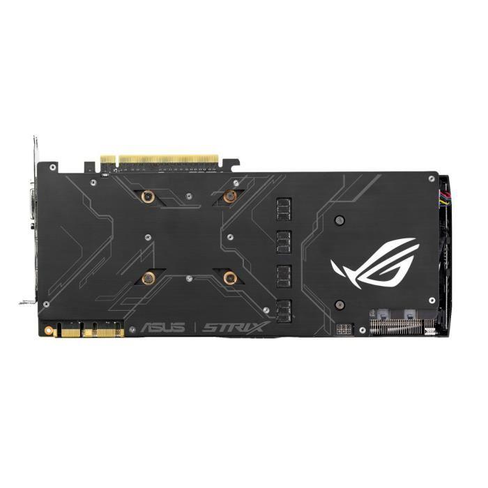 Asus nVidia GF GTX 1080 - 8Go - carte Graphique pour Gamer - GPU nVidia - 3