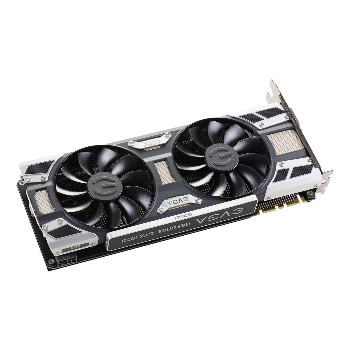 EVGA GeForce GTX 1070 SC GAMING ACX 3.0 (08G-P4-6173-KR) - Achat / Vente Carte graphique sur Cybertek.fr - 3