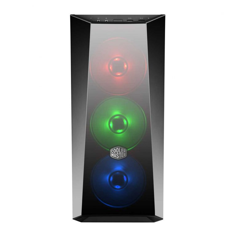 Cooler Master MasterBox Lite 5 RGB MCW-L5S3-KGNN-02 Noir - Boîtier PC - 2