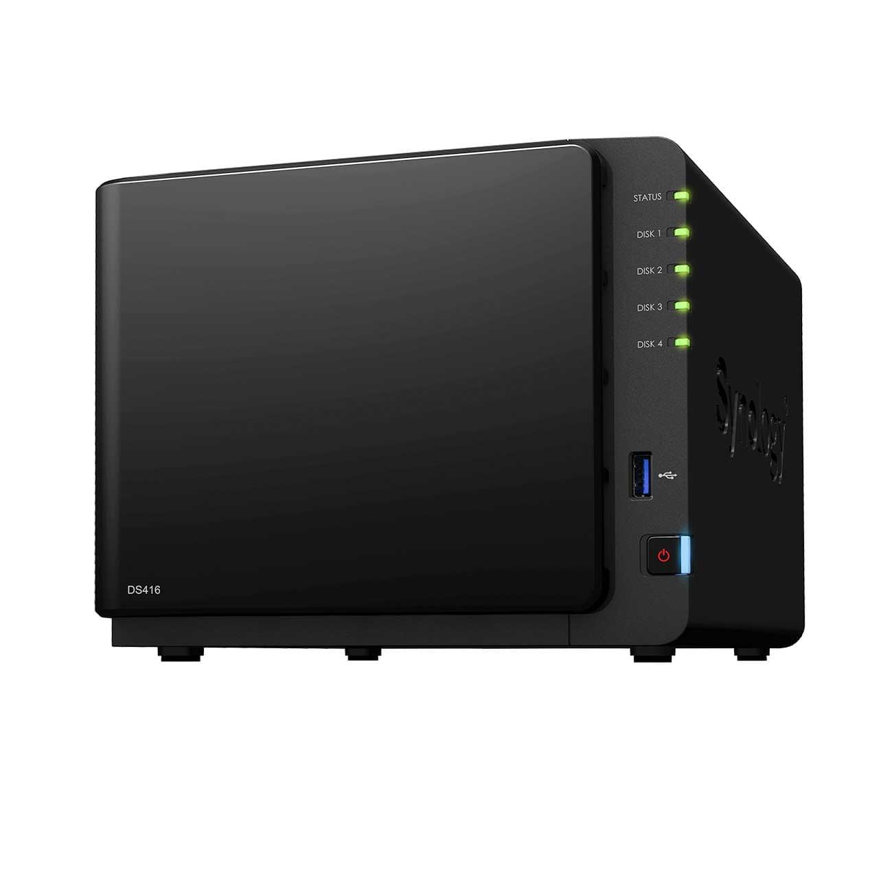 Synology DS416 - 4 HDD - Serveur NAS Synology - Cybertek.fr - 0