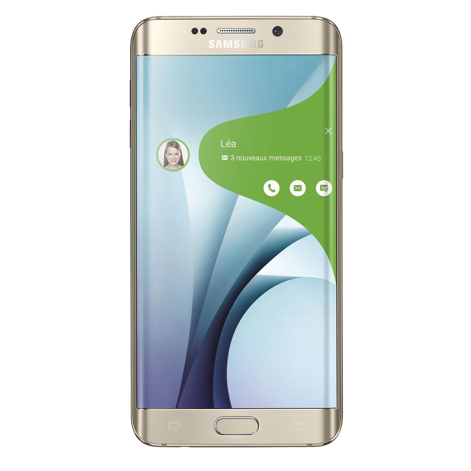Samsung Galaxy S6 Edge+ 32Go SM-G928F Gold - Achat / Vente Téléphonie sur Cybertek.fr - 0