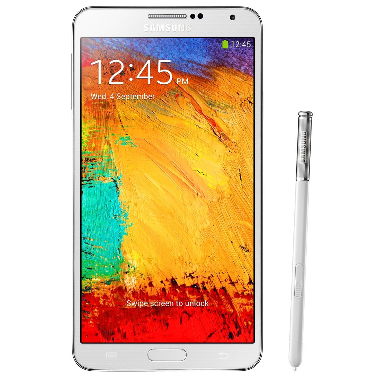 Samsung Galaxy Note 3 32Go N9005 Classic White - Téléphonie - 0