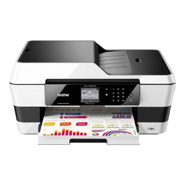Imprimante multifonction Brother MFC-J6520DW - A3 - Garantie 3 ans - 0
