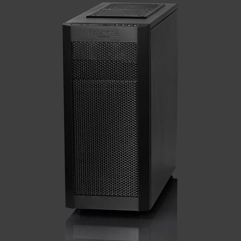 Fractal Design Core 3000 (FD-CA-CORE-3000-BL / 7350041080541) - Achat / Vente Boîtier PC sur Cybertek.fr - 0