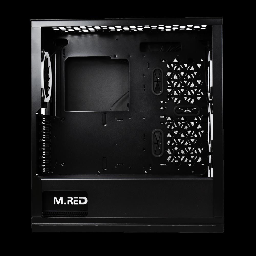 M.RED MR-004 BLACK DESTROYER Rainbow ARGB MT/Sans façade Noir - Boîtier PC - 3