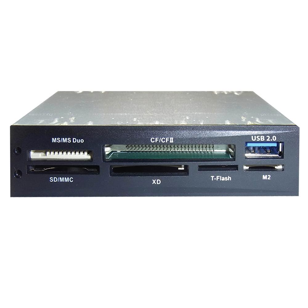 DUST Lecteur Multicartes Mémoires USB interne 3.5'' - Achat / Vente Lecteur carte mémoire sur Cybertek.fr - 0