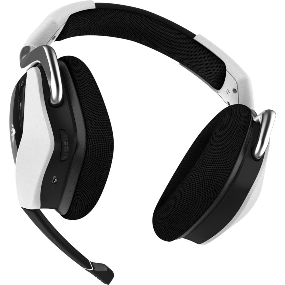 Corsair VOID RGB ELITE WIRELESS White 7.1 Surround - Micro-casque - 1