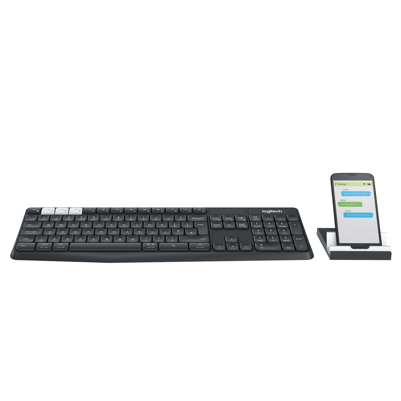 Logitech K375s Multi-Device - Clavier PC Logitech - Cybertek.fr - 3
