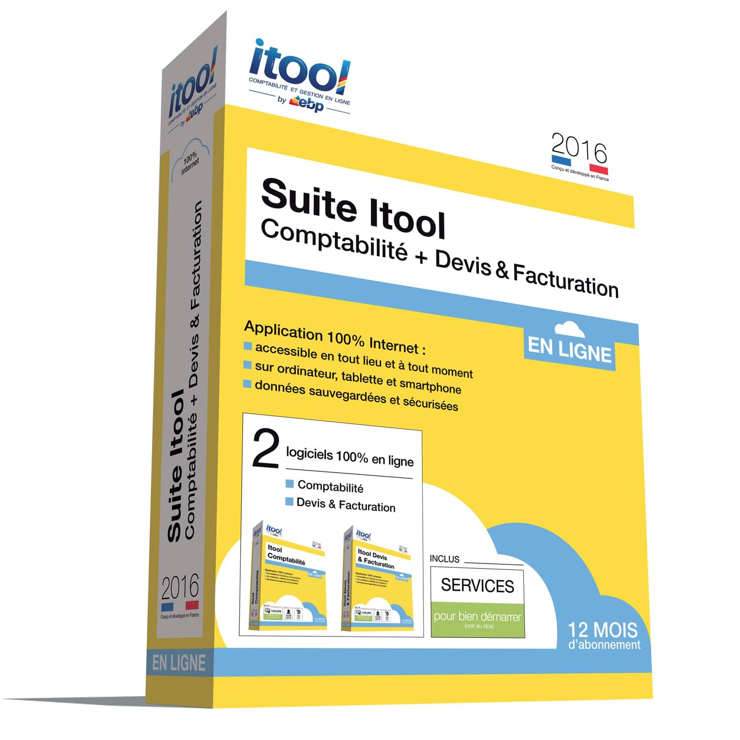 EBP ITOOL Suite Compta & Devis-Factures En Ligne 2016 - Logiciel application - 0