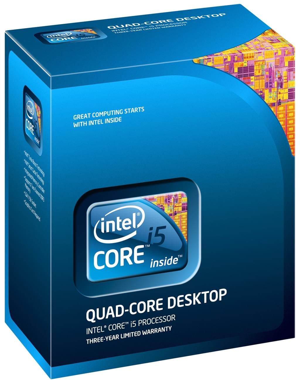 Intel Core i5 760 - 2.8GHz - Processeur Intel - Cybertek.fr - 0