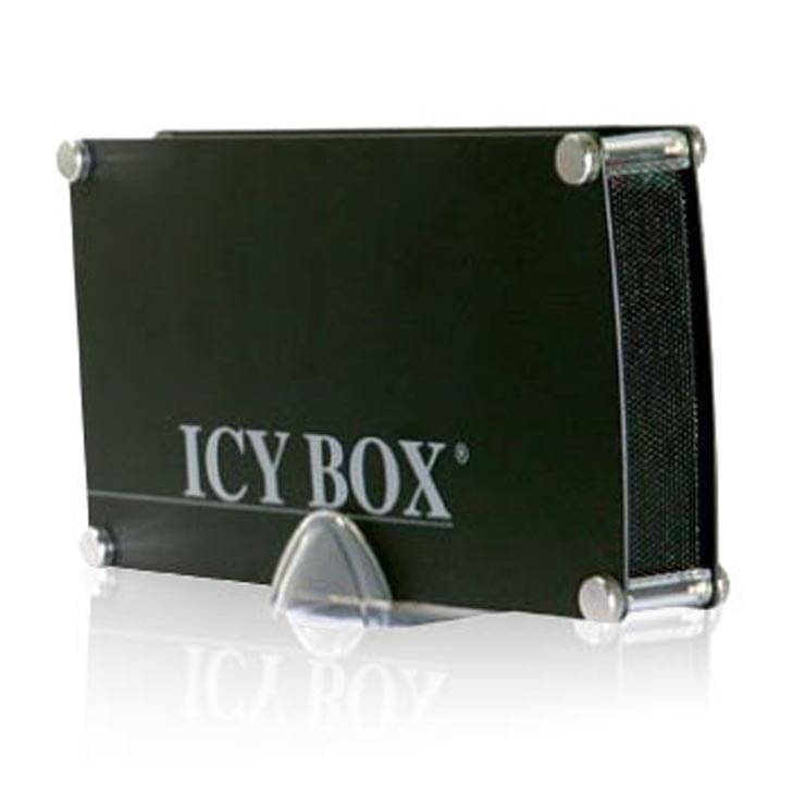 """Icy Box USB2.0 pour DD 3.5"""" IDE/SATA Black - Boîtier externe - 0"""