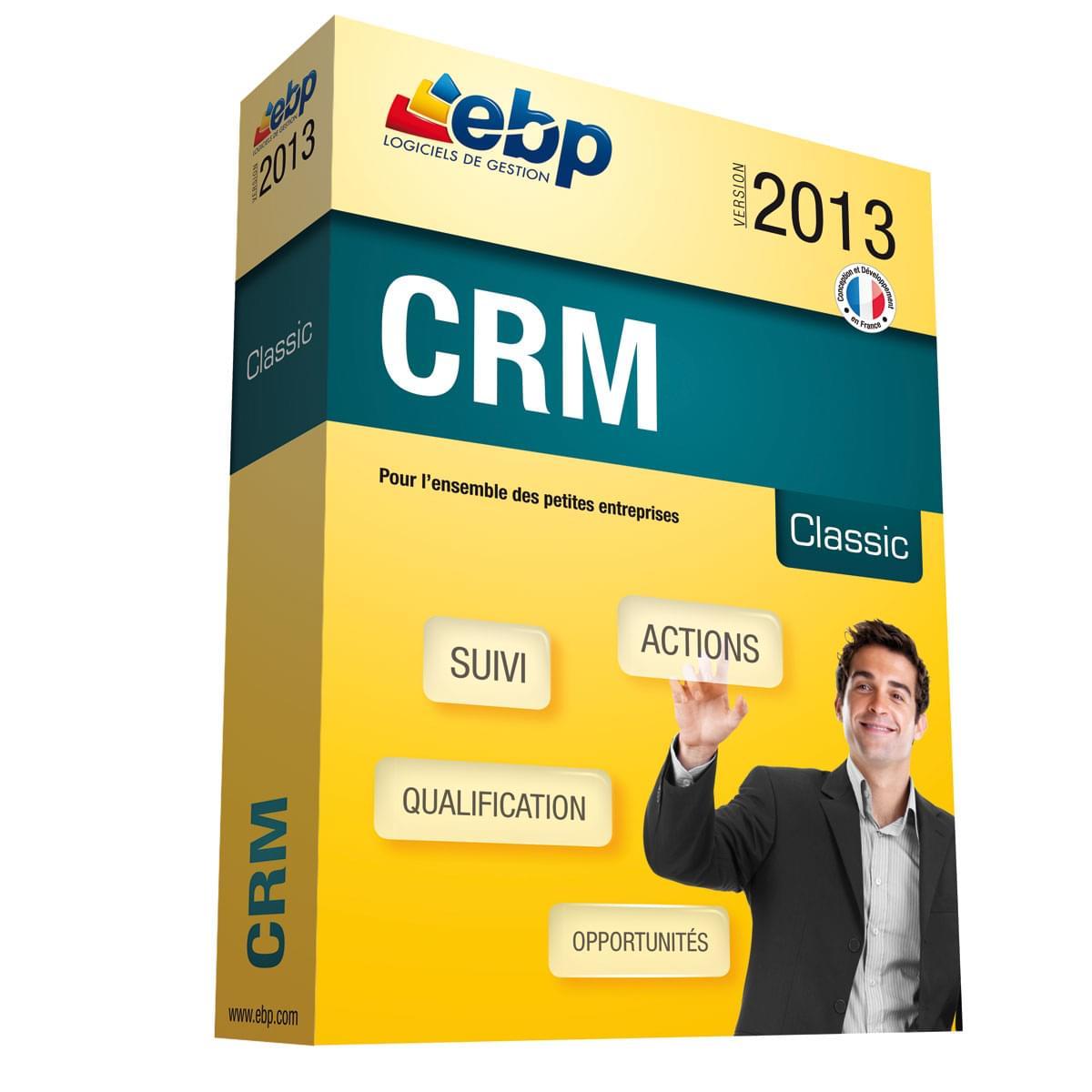EBP CRM Classic 2013 (1009J040FAA) - Achat / Vente Logiciel application sur Cybertek.fr - 0