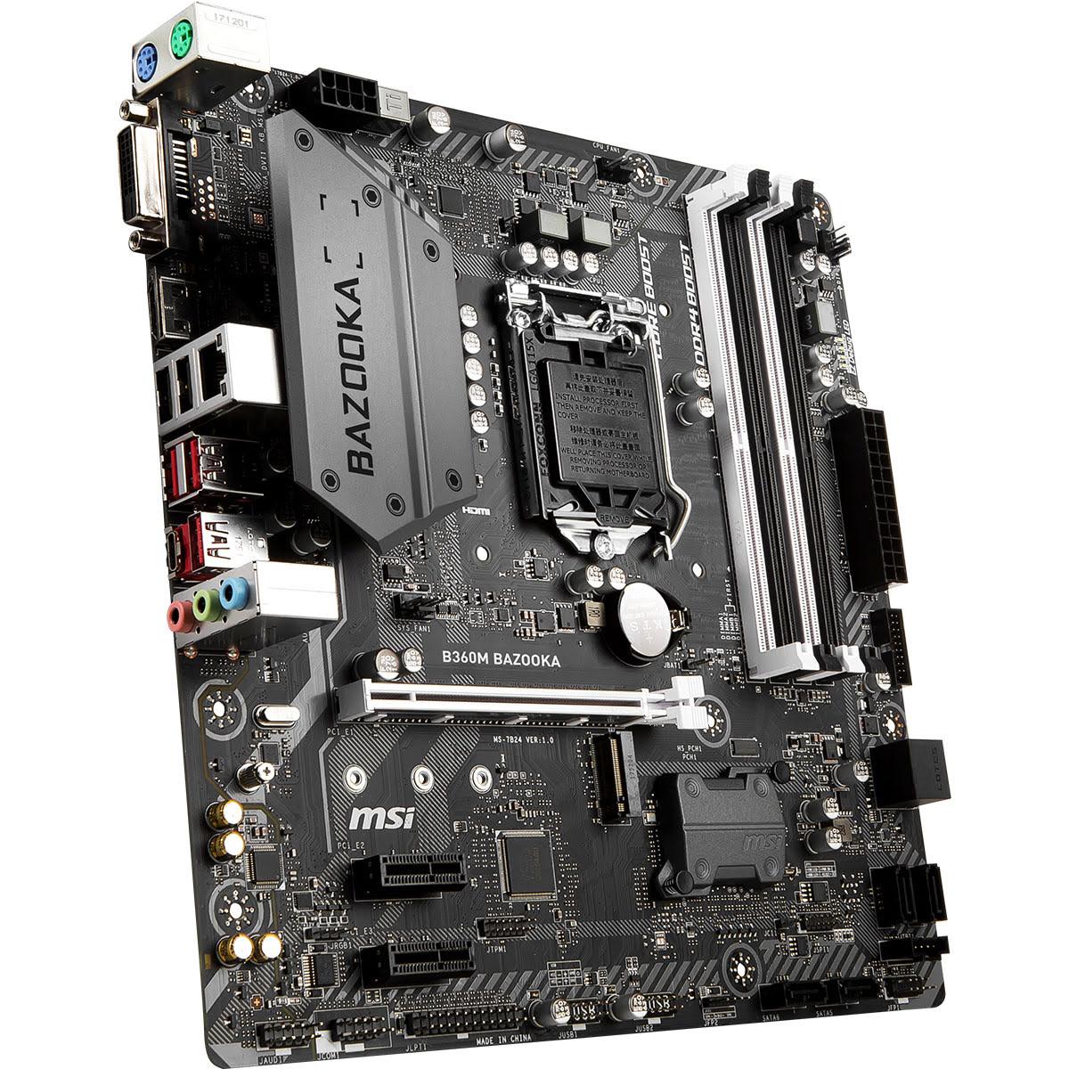 MSI B360M BAZOOKA Micro-ATX DDR4 - Carte mère MSI - Cybertek.fr - 3