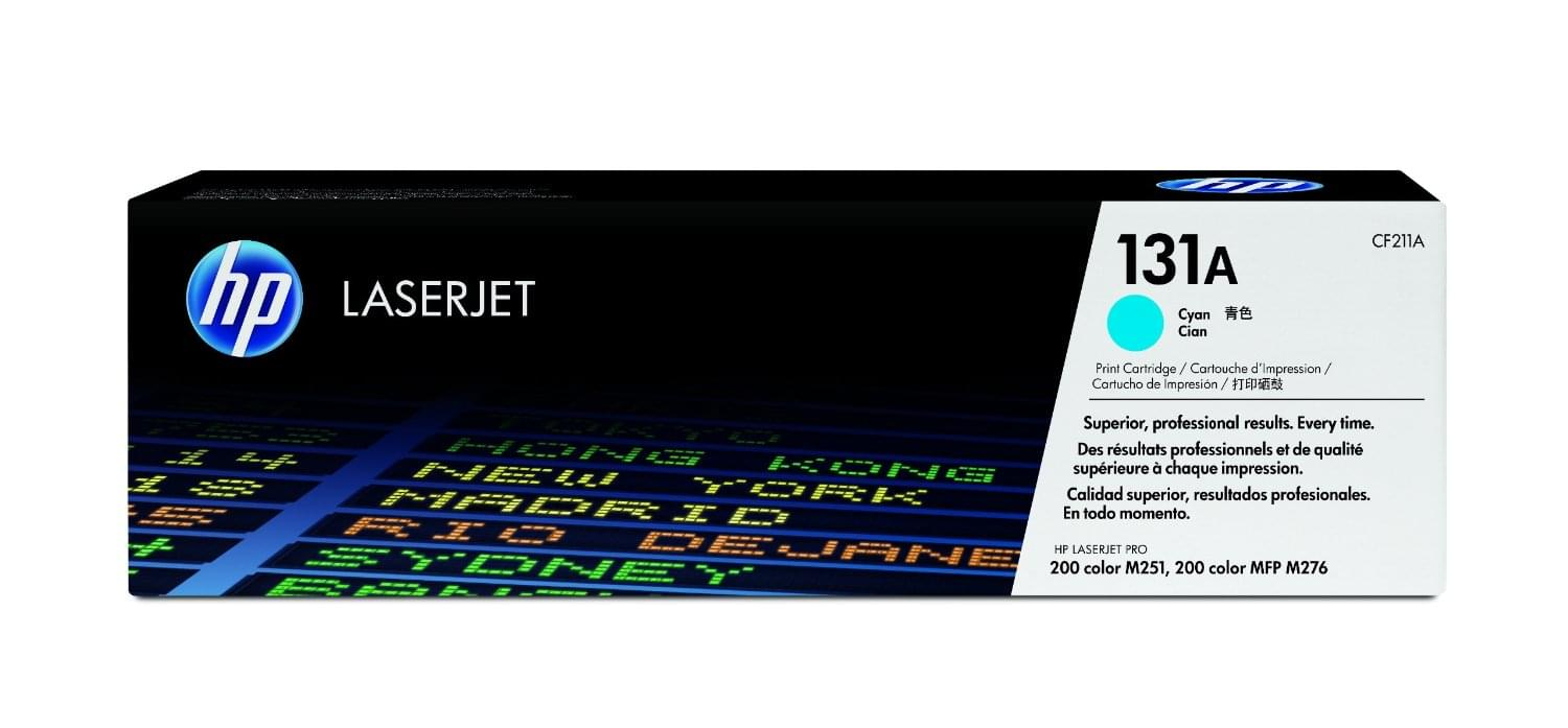 Consommable imprimante HP Toner Cyan HP 131A - CF211A