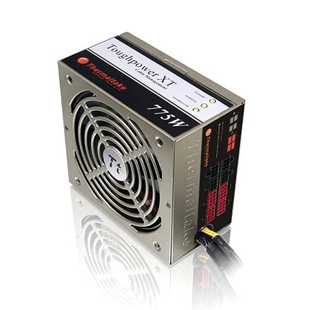 Alimentation PC Thermaltake ATX 775 Watts modulaire ToughPower 80+ - TPX-775M - 0