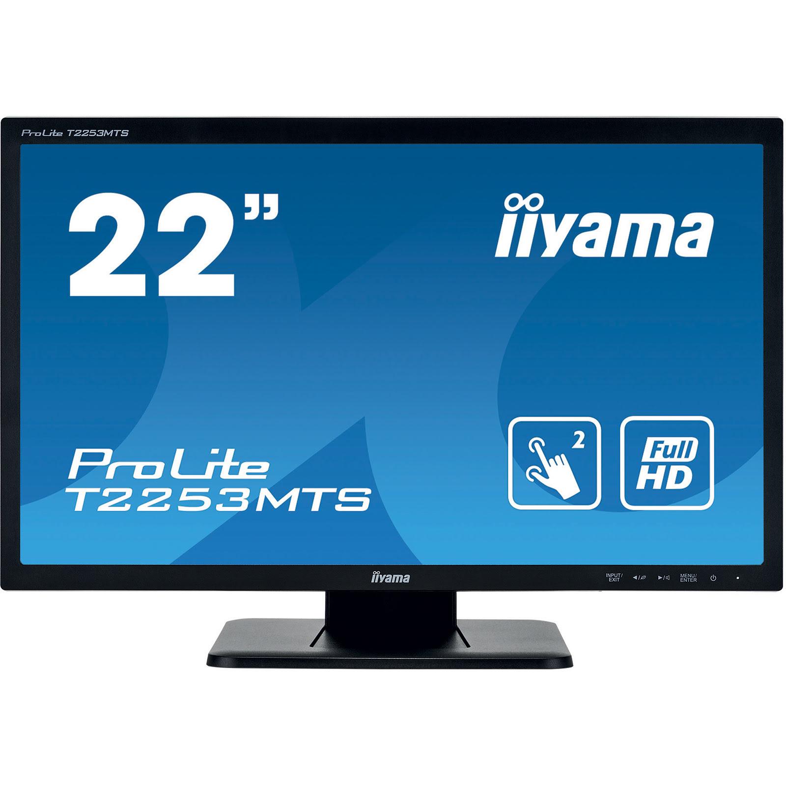 """Iiyama 22""""  T2253MTS-B1 - Ecran PC Iiyama - Cybertek.fr - 0"""