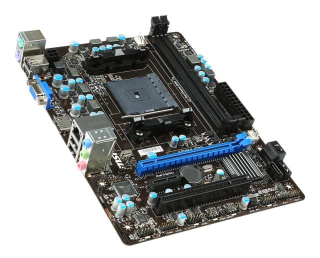 MSI A58M-E33 Micro-ATX DDR3 - Carte mère MSI - Cybertek.fr - 0