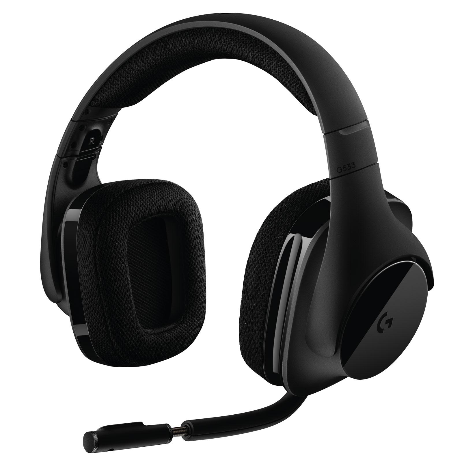Logitech G533 Prodigy Wireless Gaming Headset 7.1 Surround - Micro-casque - 0