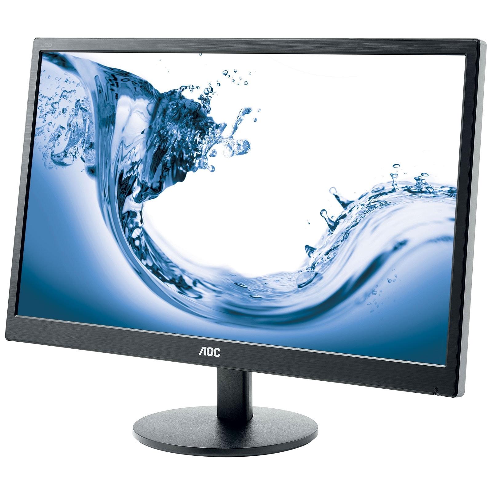 AOC Ecran PC AOC e2770Sh (E2770SH) - Achat / Vente Ecran PC sur Cybertek.fr - 1
