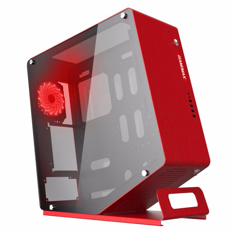 GAMEMAX WinMan RED Rouge - Boîtier PC GAMEMAX - Cybertek.fr - 0