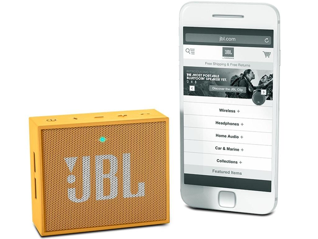 JBL Go Jaune - Enceinte PC JBL - Cybertek.fr - 0