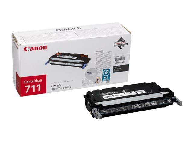 Canon Toner 711 Noir 6000p (1660B002) - Achat / Vente Consommable Imprimante sur Cybertek.fr - 0