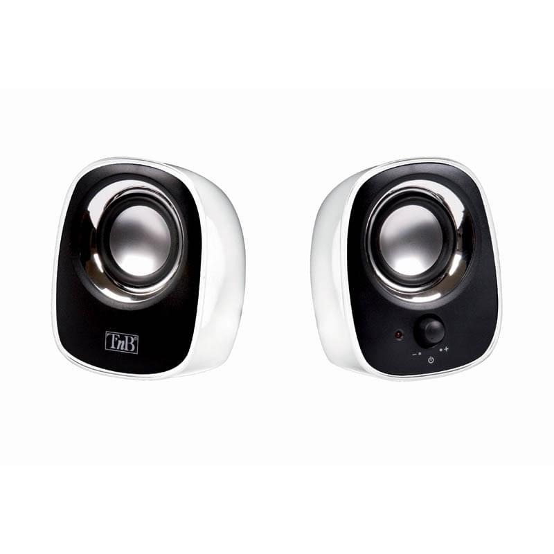 T'nB MX Series 2.0 Blancs HPMX20WH (HPMX20WH) - Achat / Vente Enceinte PC sur Cybertek.fr - 0
