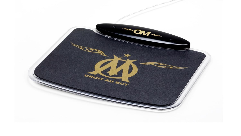 "Souris PC MAD-X ""Olympique de Marseille"" Tapis Gold - OMH-01-G - 0"