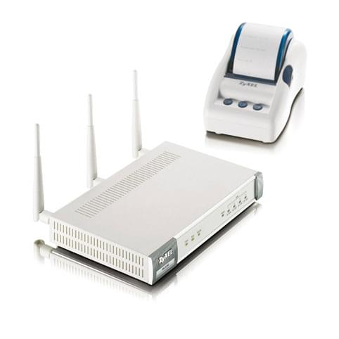 Zyxel ZY-N4100 - Routeur 4 ports wireless 10/100/WiFi N - Routeur - 0