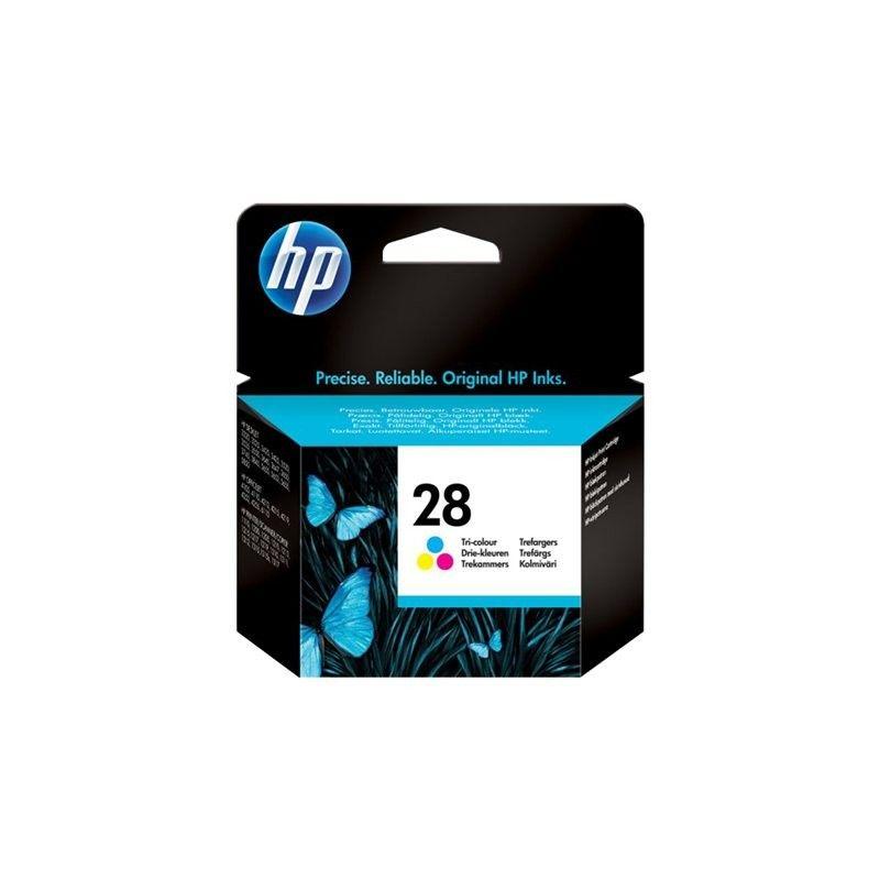 Cartouche C8728AE Cyan Magenta Jaune pour imprimante Jet d'encre HP - 0