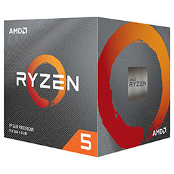 image produit AMD Ryzen 5 3600 - 4.2GHz/36Mo/AM4/BOX Cybertek