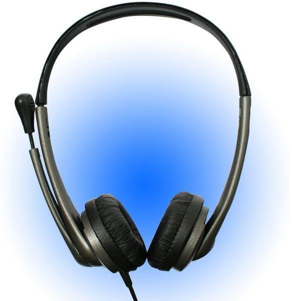 Bluestork MC100 Stereo Noir - Micro-casque - Cybertek.fr - 0