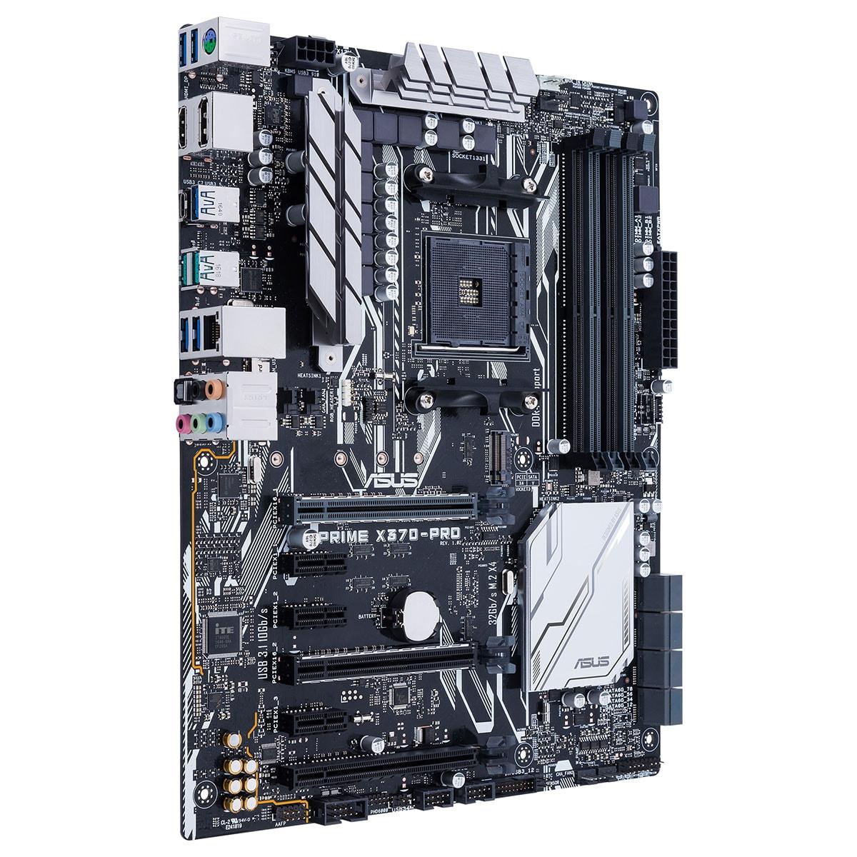 Asus PRIME X370-PRO ATX DDR4 - Carte mère Asus - Cybertek.fr - 2