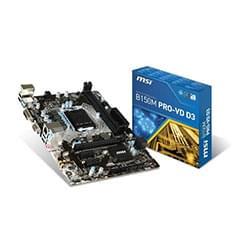 MSI Carte Mère B150M PRO-VDH - B150/LGA1151/DDR4/mATX Cybertek