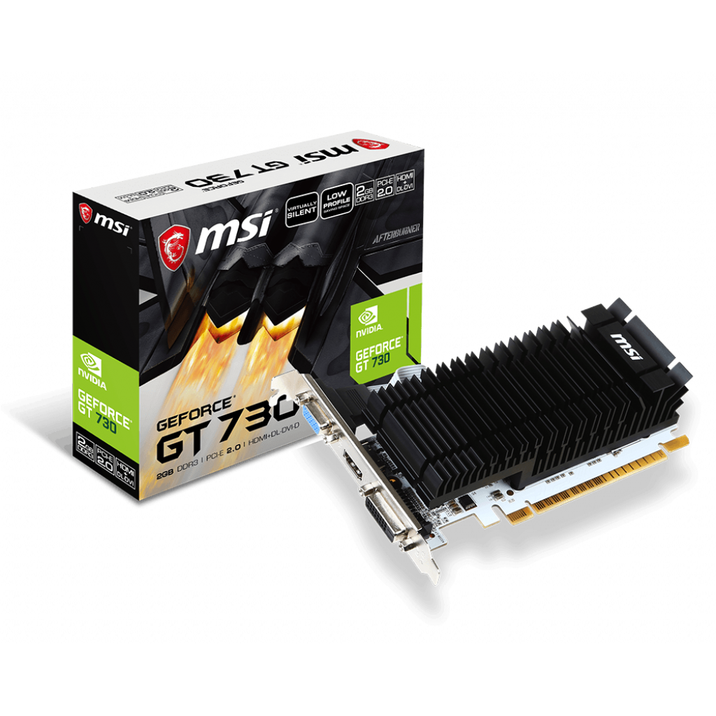 MSI N730K-2GD3H/LP 2Go - Carte graphique MSI - Cybertek.fr - 0