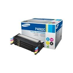 Pack Toner CLT-P4092C - Noir,Cyan,Magenta,Jaune pour imprimante Laser Samsung - 0