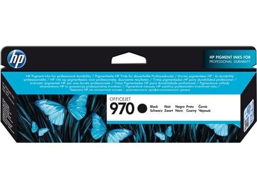 Cartouche Officejet 970 Noire - CN621AE pour imprimante Jet d'encre HP - 0