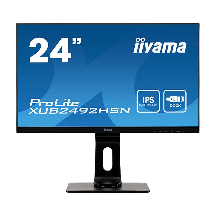 """Iiyama 24""""  XUB2492HSN-B1 - Ecran PC Iiyama - Cybertek.fr - 0"""