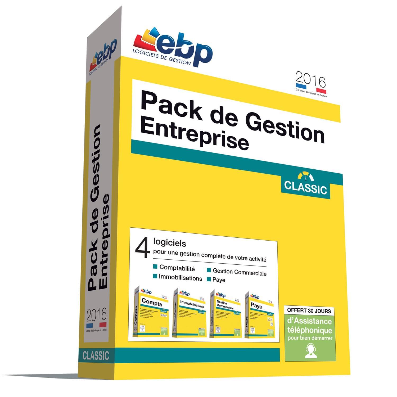 EBP Pack de Gestion Entreprise Classic 2016 + ODR 80€ (1119J080FAE) - Achat / Vente Logiciel application sur Cybertek.fr - 0