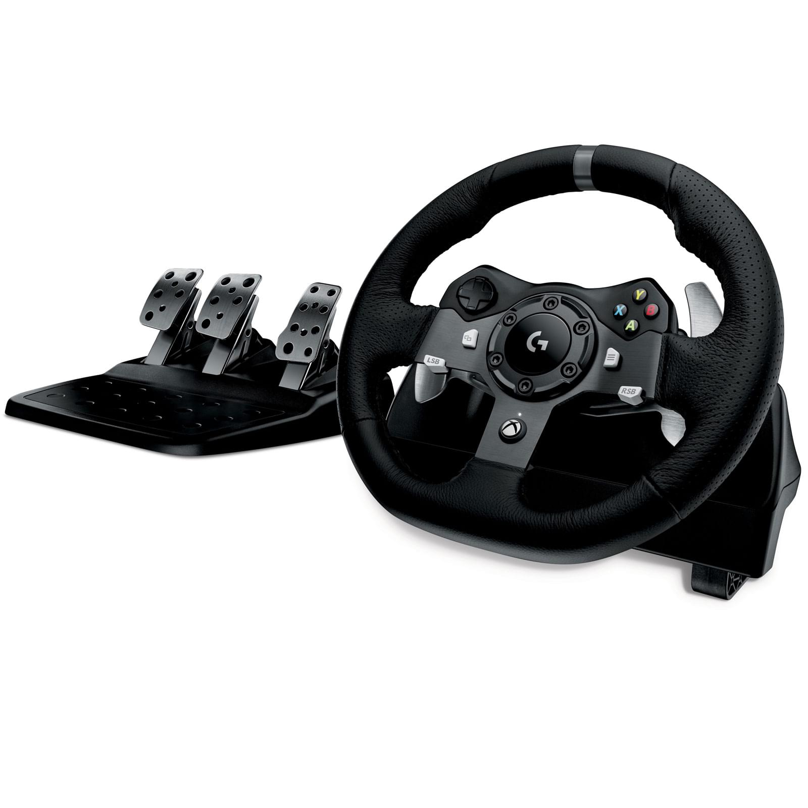 Logitech Volant G920 Driving Force (XBox One & PC) - Volant - 0