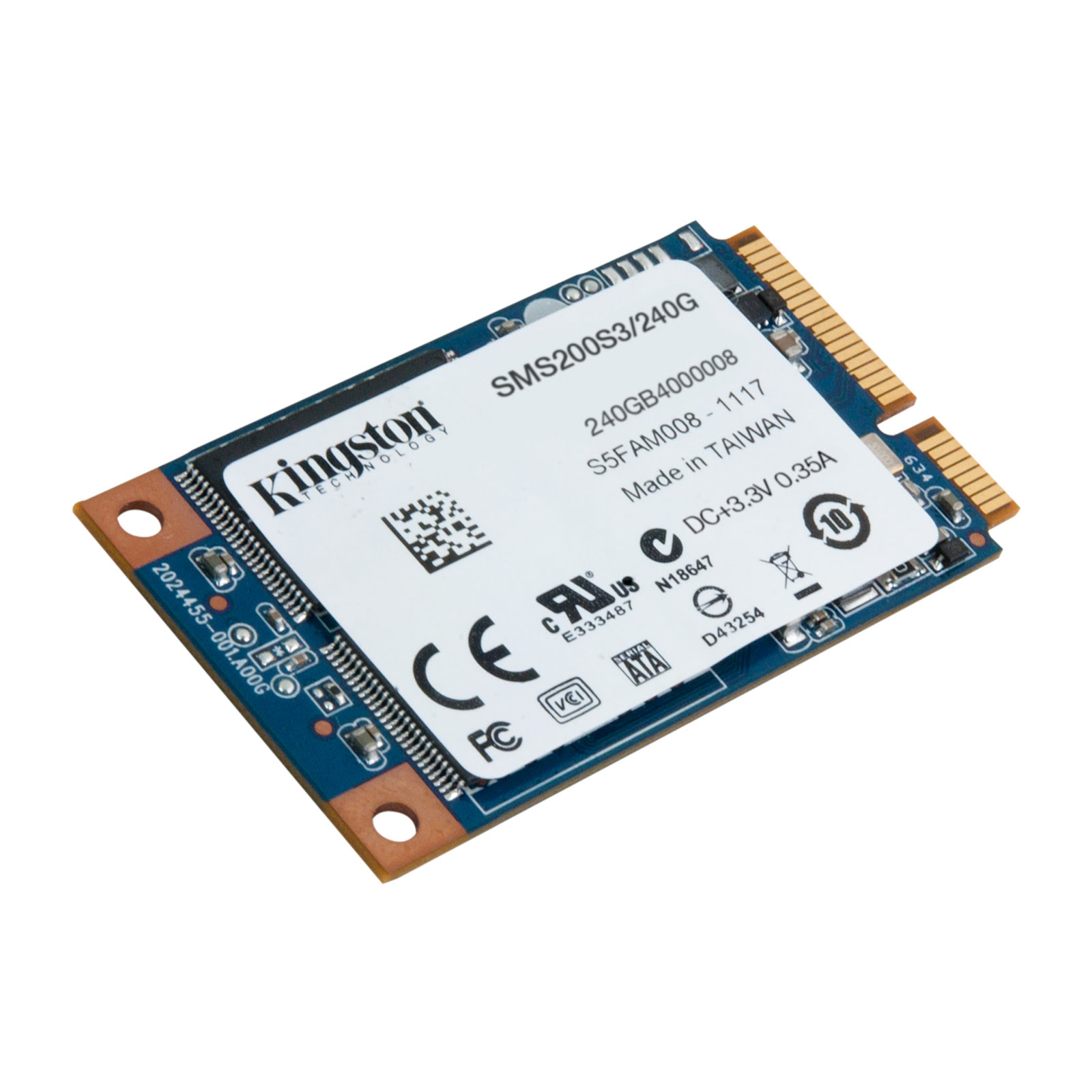 Kingston SMS200S3/240G 240-275Go - Disque SSD Kingston - 1
