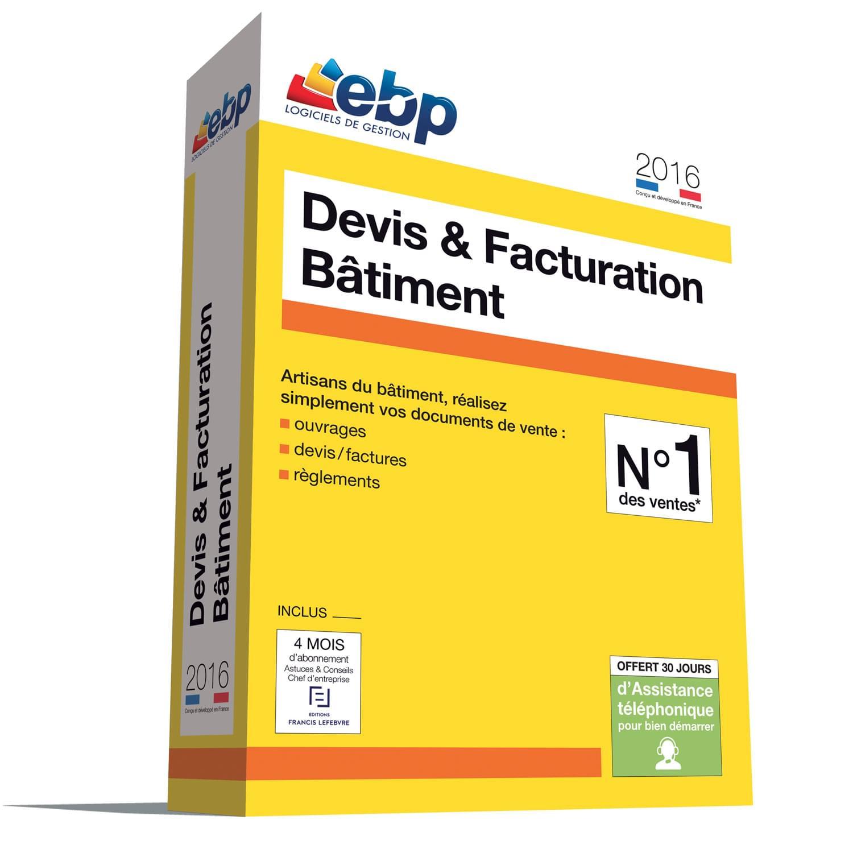 EBP Devis & Facturation Bâtiment 2016 - Logiciel application - 0
