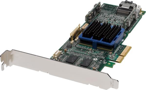 Adaptec PCI-E SAS/SATA RAID 3405 4 ports (2251800-R) - Achat / Vente Carte Controleur sur Cybertek.fr - 0