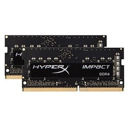Kingston Mémoire PC portable SO-DIMM 8Go (2x4Go) DDR4 FSB2133 - HX421S13IBK2/8 Cybertek