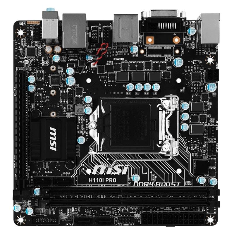MSI H110i Pro (H110I PRO) - Achat / Vente Carte Mère sur Cybertek.fr - 1