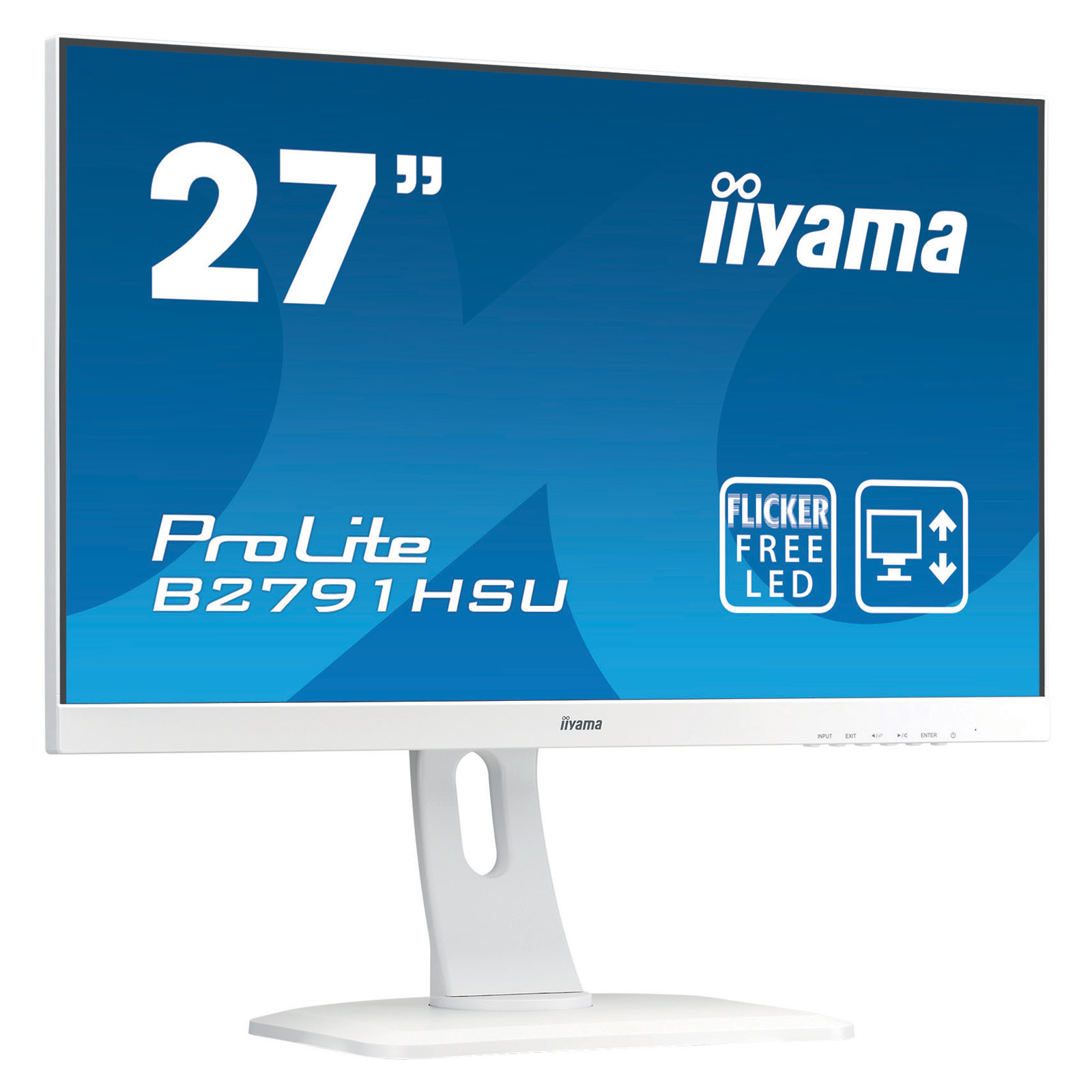 "Iiyama 27""  B2791HSU-W1 - Ecran PC Iiyama - Cybertek.fr - 0"