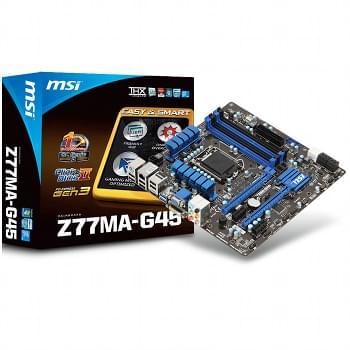 MSI Z77MA-G45 (Z77MA-G45 (PI recyclé)) - Achat / Vente Carte Mère sur Cybertek.fr - 0