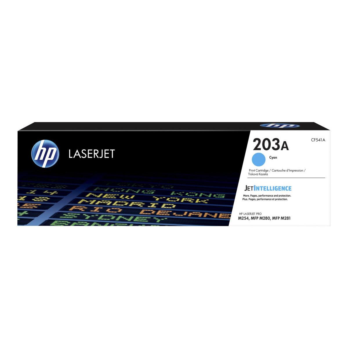 Toner Cyan 203A 1300 pages - CF541A pour imprimante  HP - 0